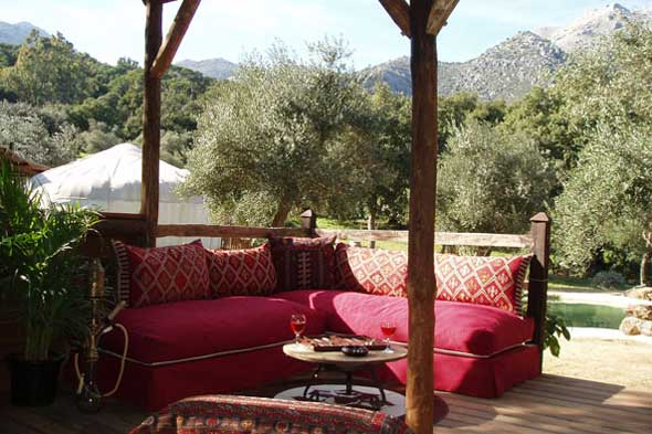 Eco-huts Hoopoe Yurt Hotel Spain