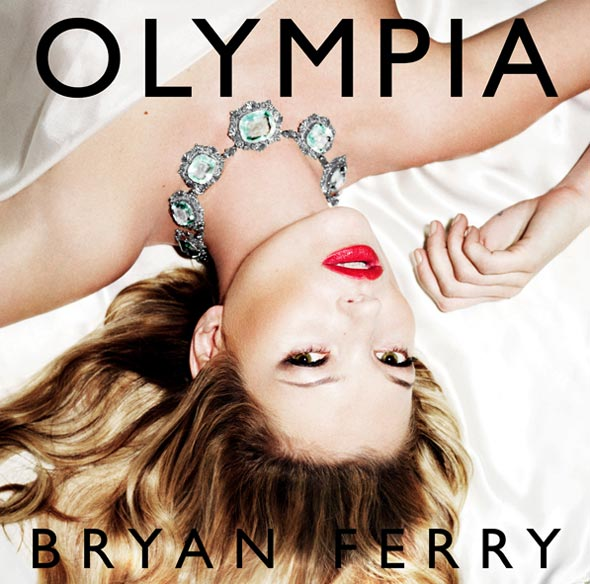 kate moss bryan ferry olympia album cd cover red lips necklace bed sheets