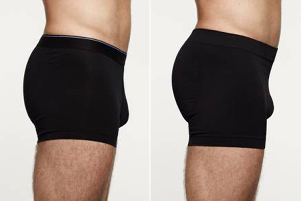 Marks and Spencer Bodymax Frontal Enhancement Pant before and after