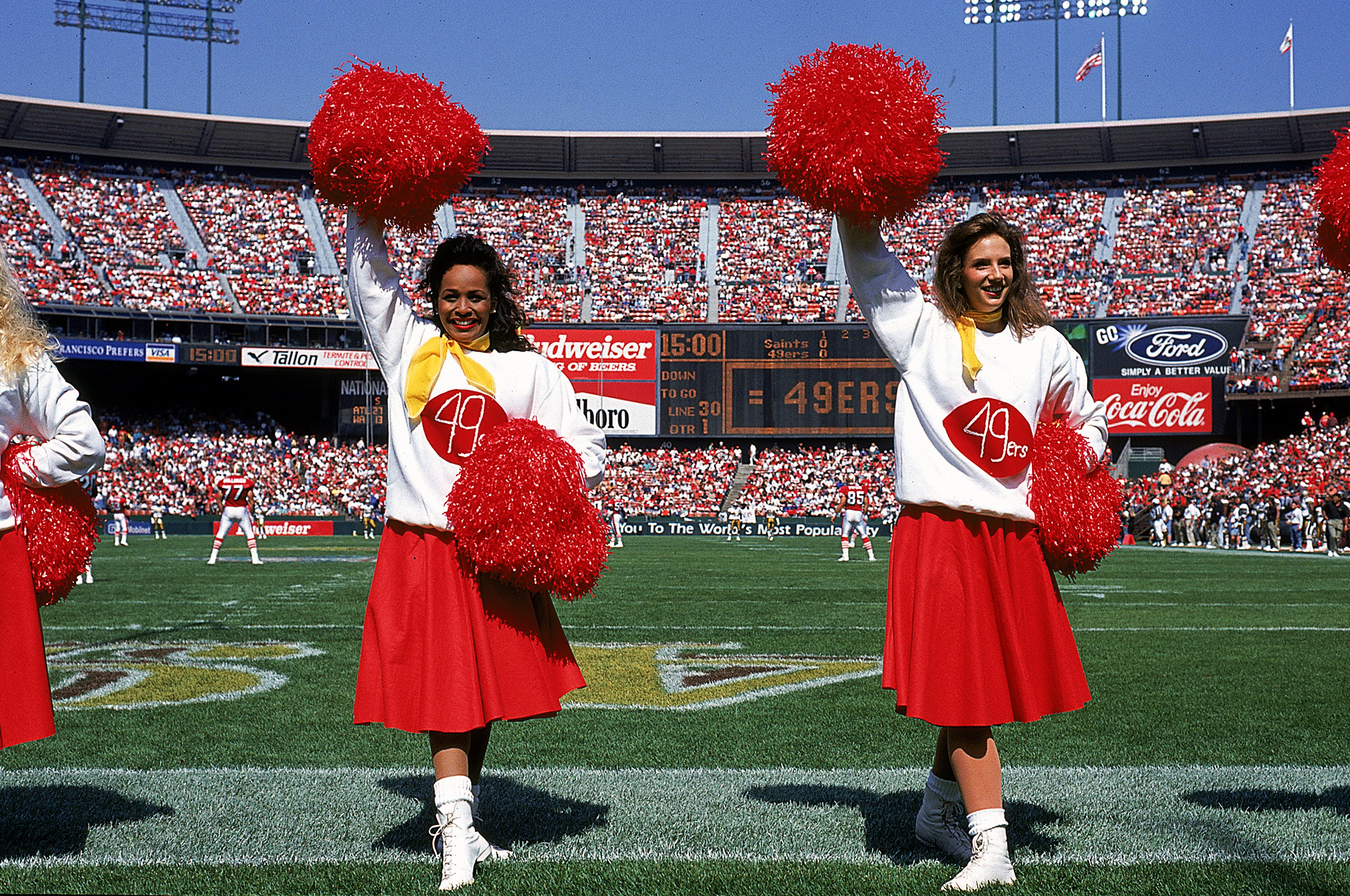 Style Transformation: Ravens and 49ers Cheerleaders