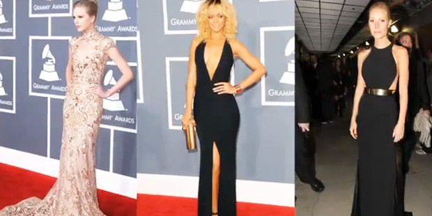 Fashion Rewind at the Grammy Awards