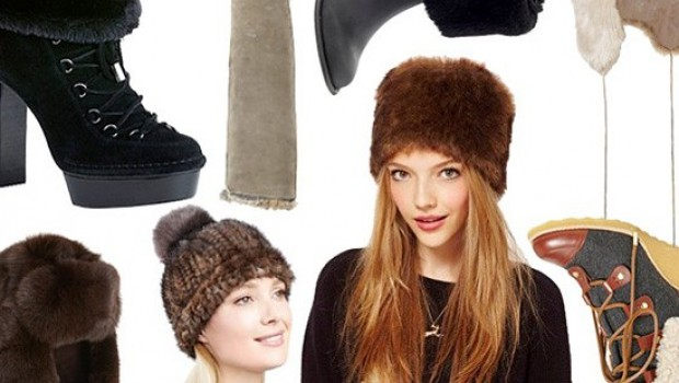 Keep Warm From Head To Toe With 20 Stylish Fur Hats and Boots