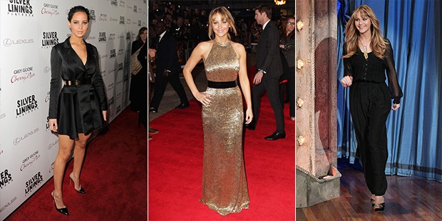 2012 Wrap Up: A Year of Style with Jennifer Lawrence