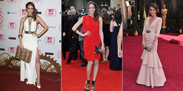 Louise Roe's Best Red Carpet Looks