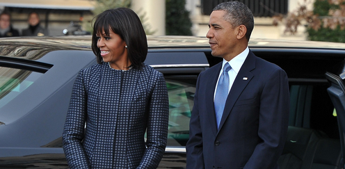 Michelle Obama's Inauguration Weekend Style 2013