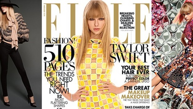 Taylor Swift Covers Harper's Bazaar