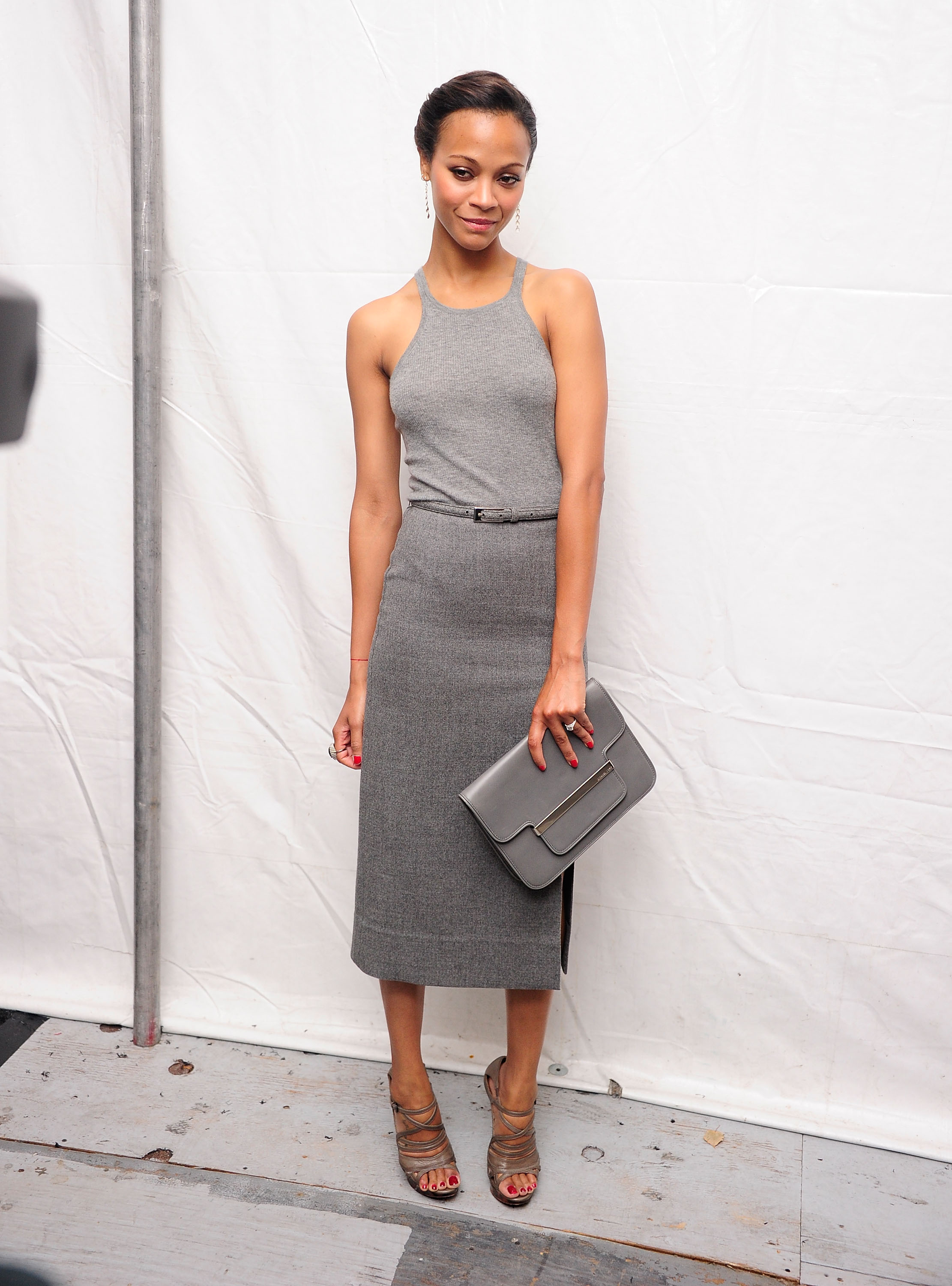 Buy michael kors gowns grey > OFF34% Discounted