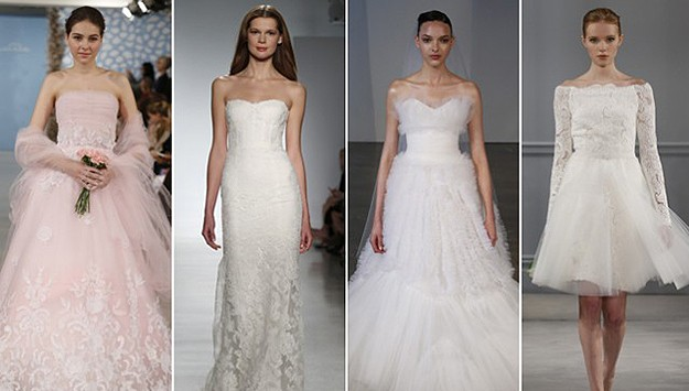 Really, really pretty wedding dresses from the Spring Bridal Shows