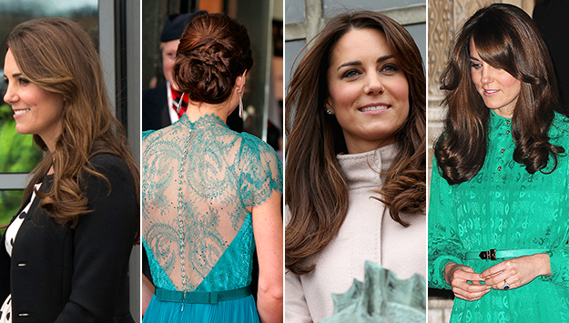 Kate named Britain's Hair Icon in survey
