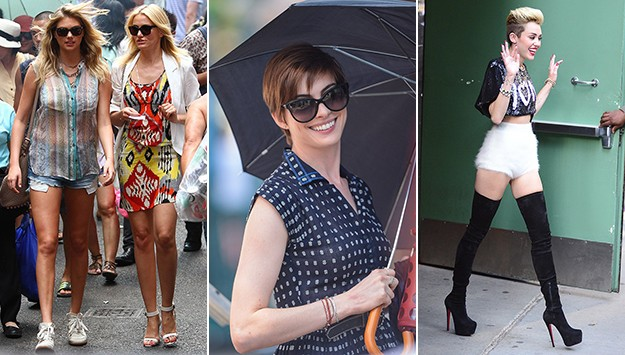 Fab or Flop: Kate Upton's Sheer Top, Miley Cyrus' Sky High Heels & More