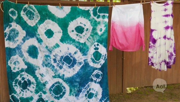 3 Patterns To Tie-Dye For!