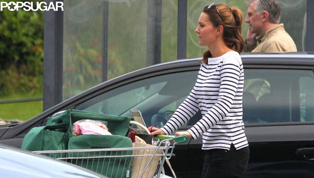 Exclusive: Kate Middleton Spotted Shopping in Anglesey