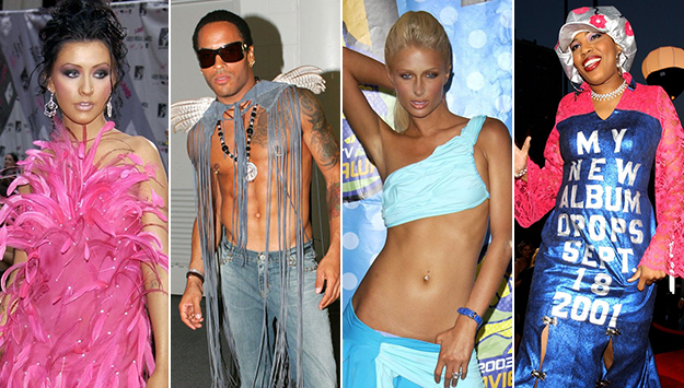 The top 10 WORST Outfits at the MTV Video Music Awards...Of All Time