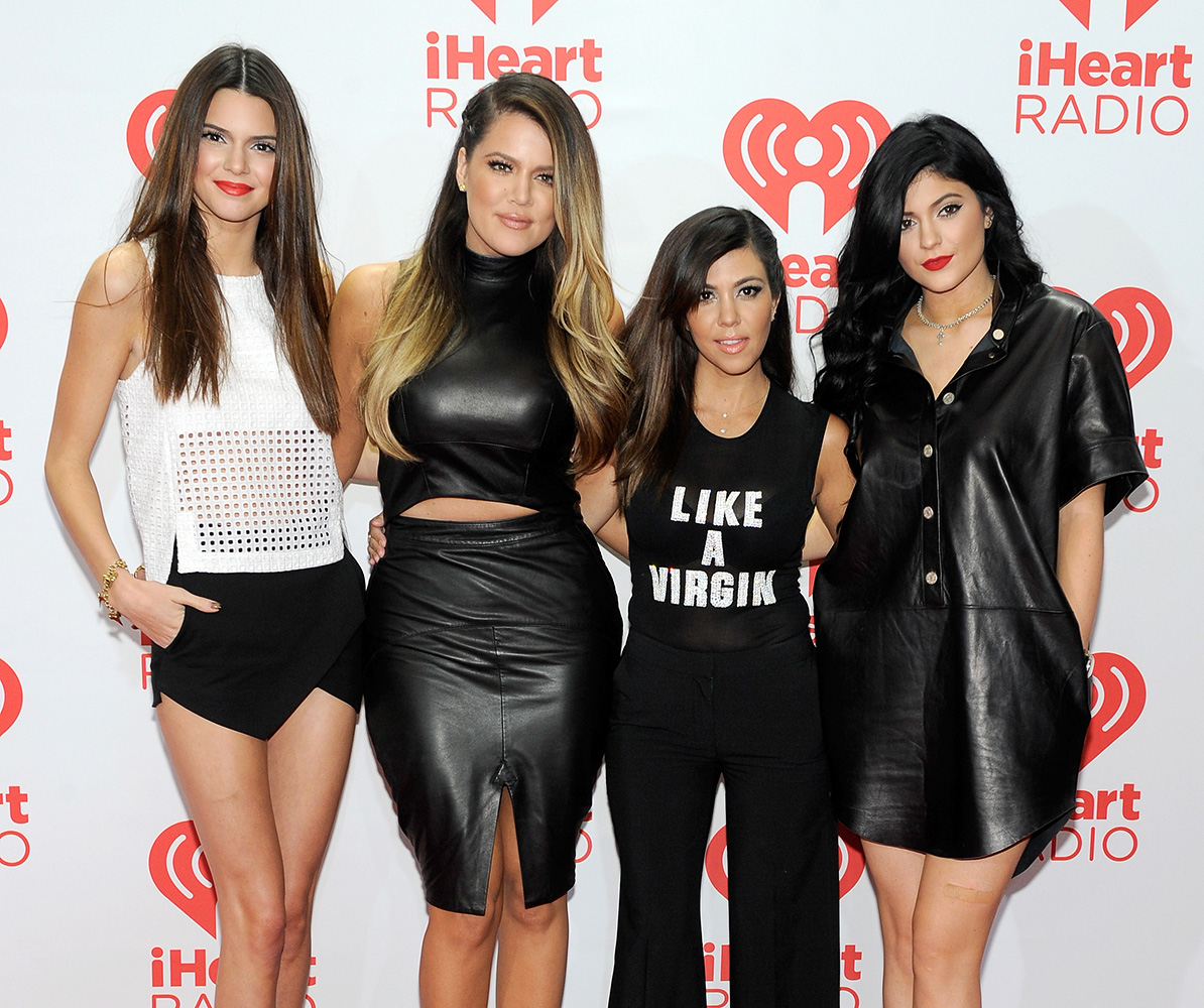 The Kardashian sisters re-emerge & look more gorgeous than ever