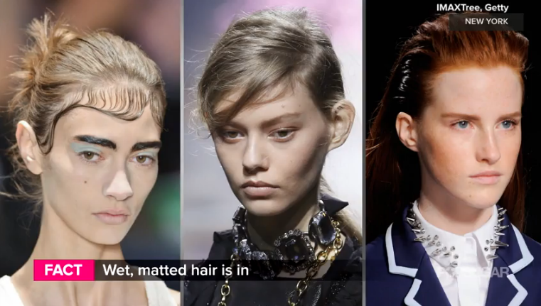 Top beauty trends from Paris FW