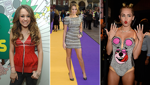 Miley Cyrus' shocking style transformation