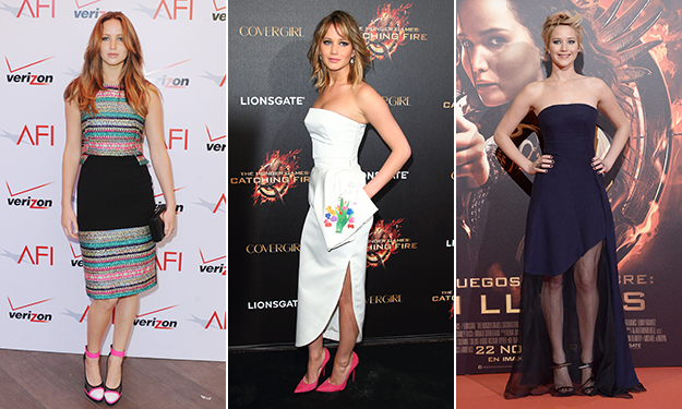 Jennifer Lawrence's best red carpet looks