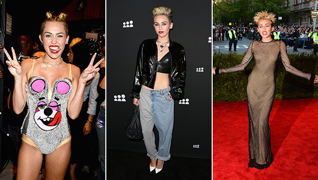Miley Cyrus's 12 most shocking looks