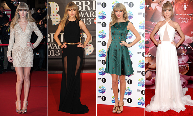 A year of style with Taylor Swift