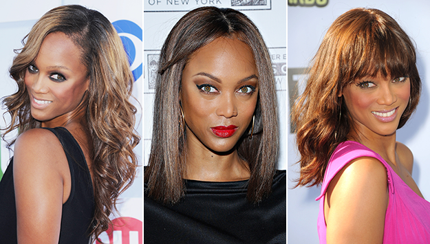 Tyra's most stunning hair moments