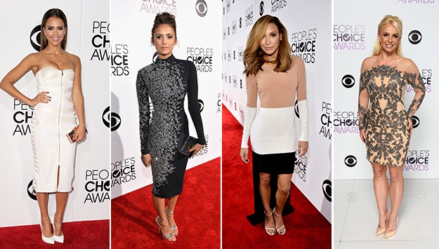The best and worst dressed at the 2014 People's Choice Awards