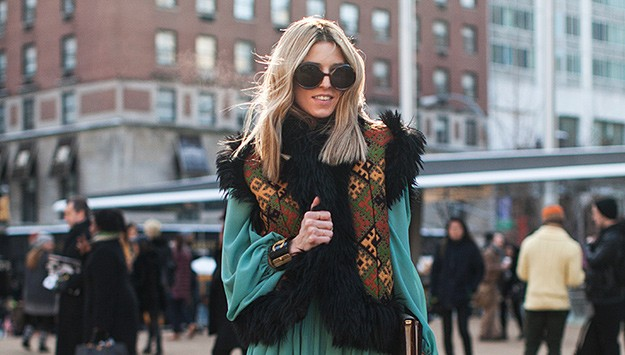 All the best street style from NYFW Day 1