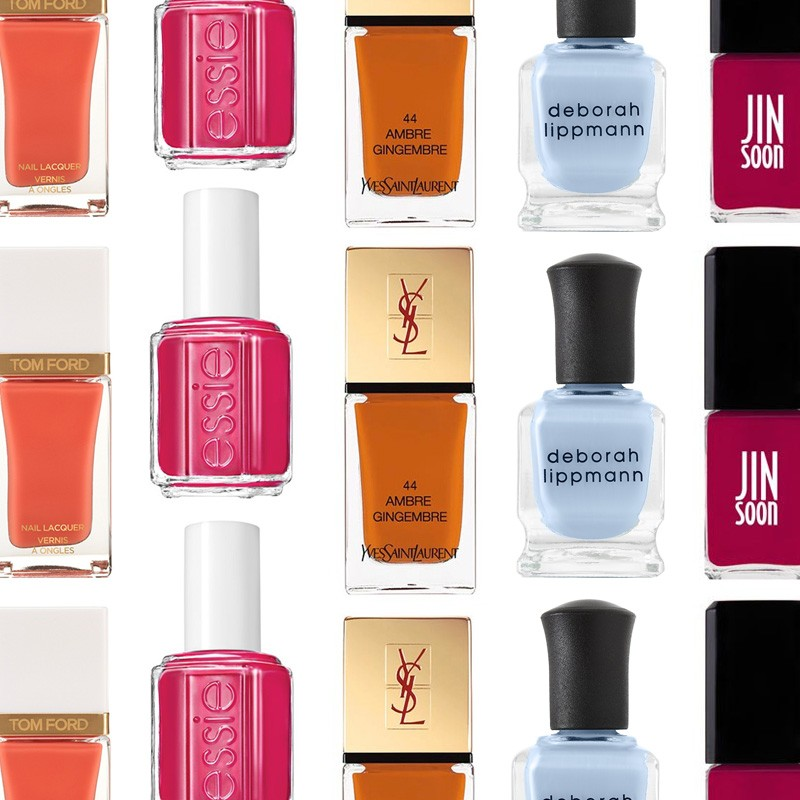 The top 5 nail polish trends for spring 2014
