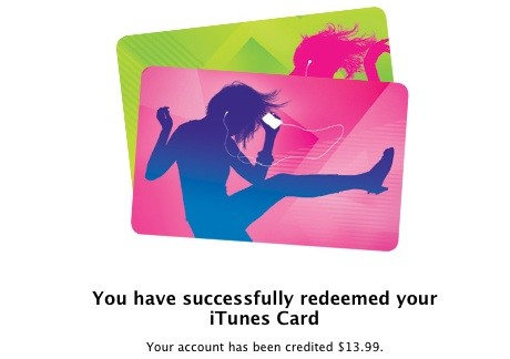 iTunes 101: From a jug of coins to an iTunes Gift Certificate
