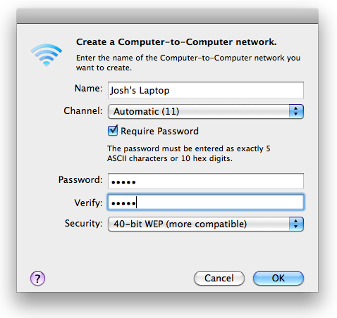 how to find a wierless password on a mac