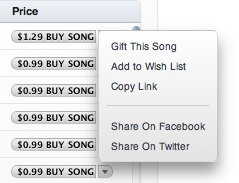 how to buy songs on itunes wish list