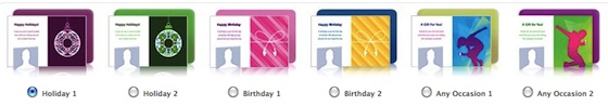 Facebook gains iTunes gift card feature just in time for Christmas