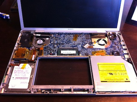 los angeles b9395 afd27 Intensive surgery on an old MacBook Pro yields huge performance ...