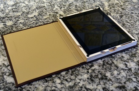 Germanmade iPad case open