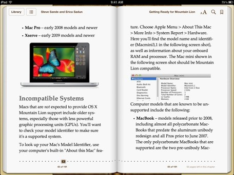 iBook Lessons Style sheets