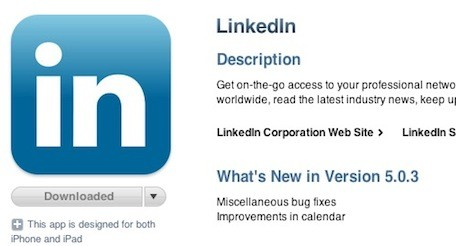 LinkedIn leaks password hashes, iOS app is scraping your meeting notes Update