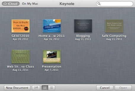 how to find documents in icloud on mac