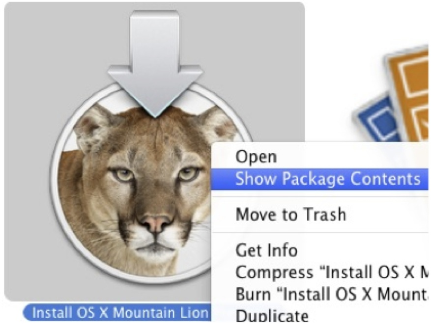 Building an OS X Mountain Installer Thumb Drive