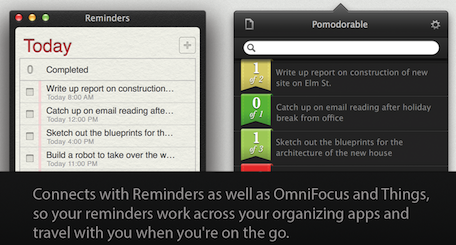 Pomodorable task management app ready to pick on the Mac App Store