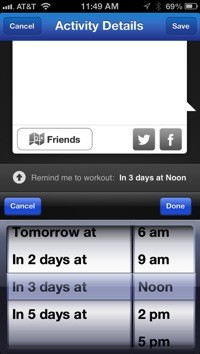 RunKeeper 28 adds leaderboard, personal goals, and scheduled workouts
