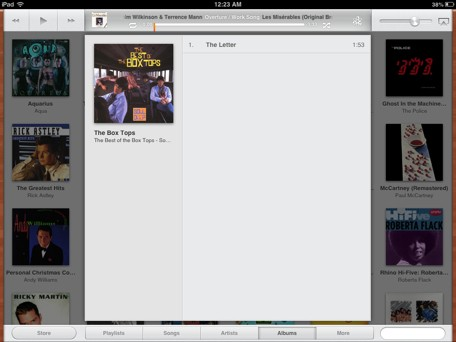 iPad Remote could offer sneak peek at future Music app