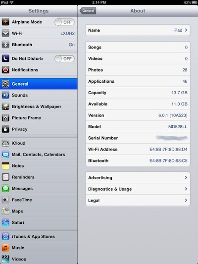 Add an iPad mini with Verizon 4G to an existing plan