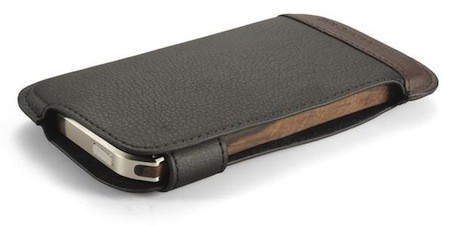 Element's Ronin iPhone 5 case Wood, metal, leather