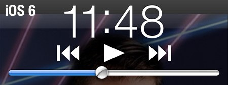 It's in the details iOS 61 updates lock screen music controls