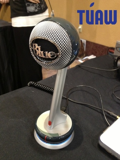 Blue Mic's Nessie adaptive USB microphone perfect for desktop recording