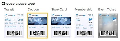 Making Your Own Passbook Store Loyalty Cards With Passkit