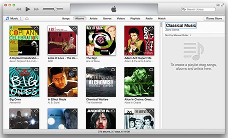 iTunes 101 Making playlists in iTunes 11