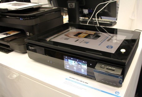 HP demos magical Live Photo app, superfast SMB inkjet multifunction printer