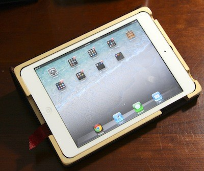 Pad and Quill's Aria iPad mini case A masterpiece