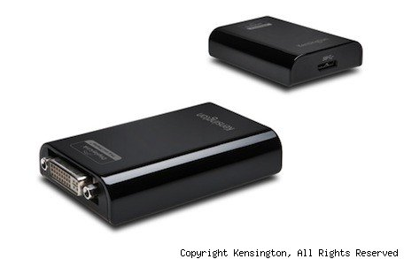 Kensington adds Mac compatibility to USB 30 docking stations, multidisplay adapter