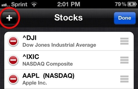 Getting more out of Apple's Stocks app on iOS
